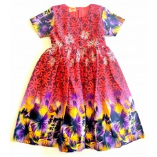 African Girl Dress Beach Size 4T