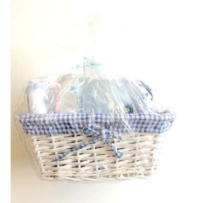 Baby Boy Gift Basket (Baby Shower & New Baby Gift Item)