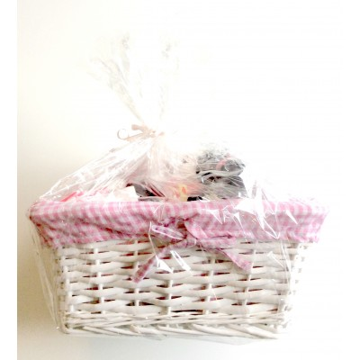 Baby Girl Gift Basket (Baby Shower & New Baby Gift Item)