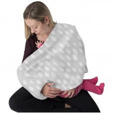 Breastfeeding Pillow for Nursing Moms Gray
