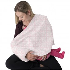 Breastfeeding Pillow for Nursing Moms Pink