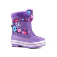 Gorgeous Children's Winter (Snow) Boot Toddler Girl Size 6 (Purple)