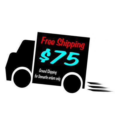 Free Shipping $75