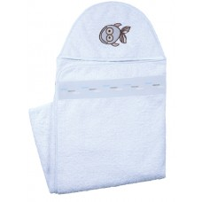 Hooded Towel Blue (Baby)