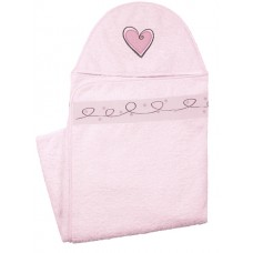Hooded Towel Pink (Baby)