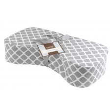 Nursing Pillow Lattice Gray