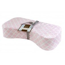 Nursing Pillow Lattice Pink
