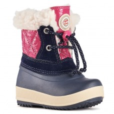 Olang Winter Boots for Girls - Ape Black Fuxia