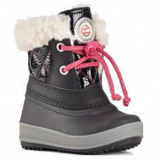 Olang Winter Boots - Ape Nero Fuxia - Girls