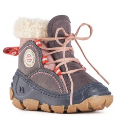Olang Winter Boots for Girls - Randa Antracite Rosa