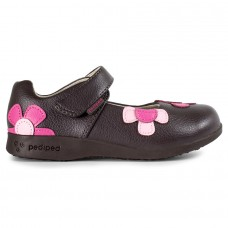 Pediped Flex® Abigail Chocolate (Girl Shoes)