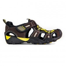 Pediped Canyon Chocolate/Yellow (Boy's Sandals)