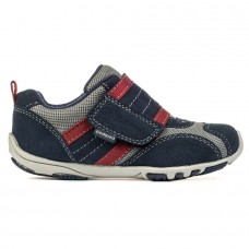 Pediped Flex® Adrian Navy/Grey/Red (Boy Shoes)