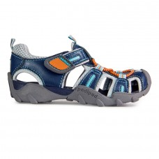 Pediped Flex® Canyon Teal/Orange Sandals