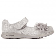 Pediped Flex® Estella Silver (Girl Dress/Casual Shoes)