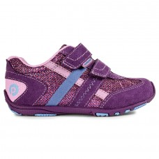 Pediped Flex® Gehrig Purple Lily Girl Sneakers