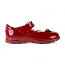 Pediped Flex® Isabella Red  (Little/Big Girl Shoe)