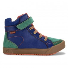 Pediped Flex® Logan Blue Olive Gum Boots Boys