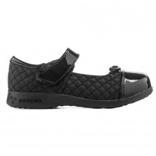 Pediped Flex® Naomi Patent Black (Little/Big Girl Shoe)