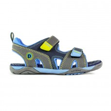 Pediped Flex® Navigator Navy/Yellow (Boys Sandals)