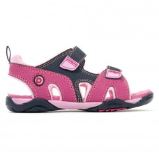 Pediped Flex® Navigator Pink/Navy (Girls Sandals)