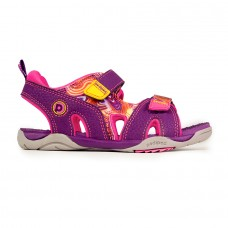 Pediped Flex® Navigator Purple Swirl (Girls Sandals)