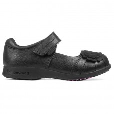 Pediped Flex® Sarah Black (Little/Big Girl Shoe)
