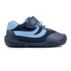 Pediped Grip 'n' Go™ Cliff Navy/Sky Baby/Toddler Boy Shoe
