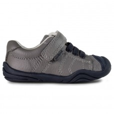 Pediped Grip 'n' Go™ Jake Grey/Blue Toddler Boy Shoe