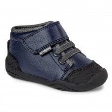 Pediped Grip 'n' Go™ Jay Navy Boys Booties