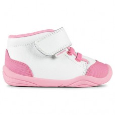 Pediped Grip 'n' Go™ Jay White Toddler Girl Shoe (With Ankle Support)