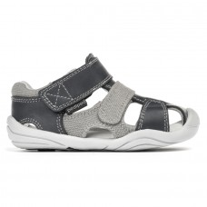 Pediped Grip 'n' Go™ Joshua Navy/Grey (Toddler Boy Sandals)