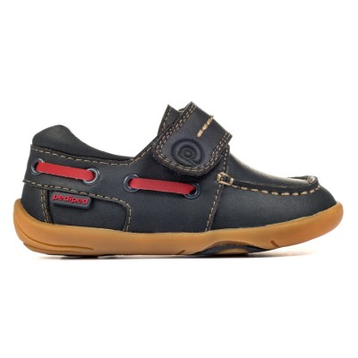 Pediped Grip 'n' Go™ Norm Navy Baby/Toddler Boy Shoe