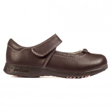Pediped Flex® Isabella Chocolate Brown (Little/Big Girl Shoe)