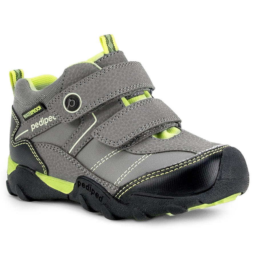 Pediped Flex® Max Charcoal/Lime