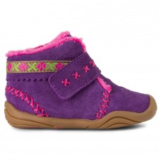 Pediped Grip 'n' Go™  Rosa Purple (Baby Girl Shoe with Ankle Support)