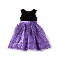 Purple Sequin Girl Dress - Infant, Toddler & Girls