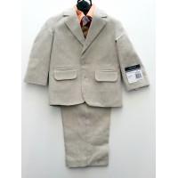 Toddler Boy Formal Suit (Brown)