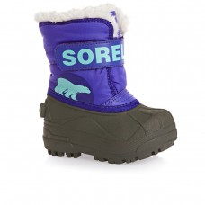 Sturdy Winter (snow) Boot for Toddlers (Purple/Black)