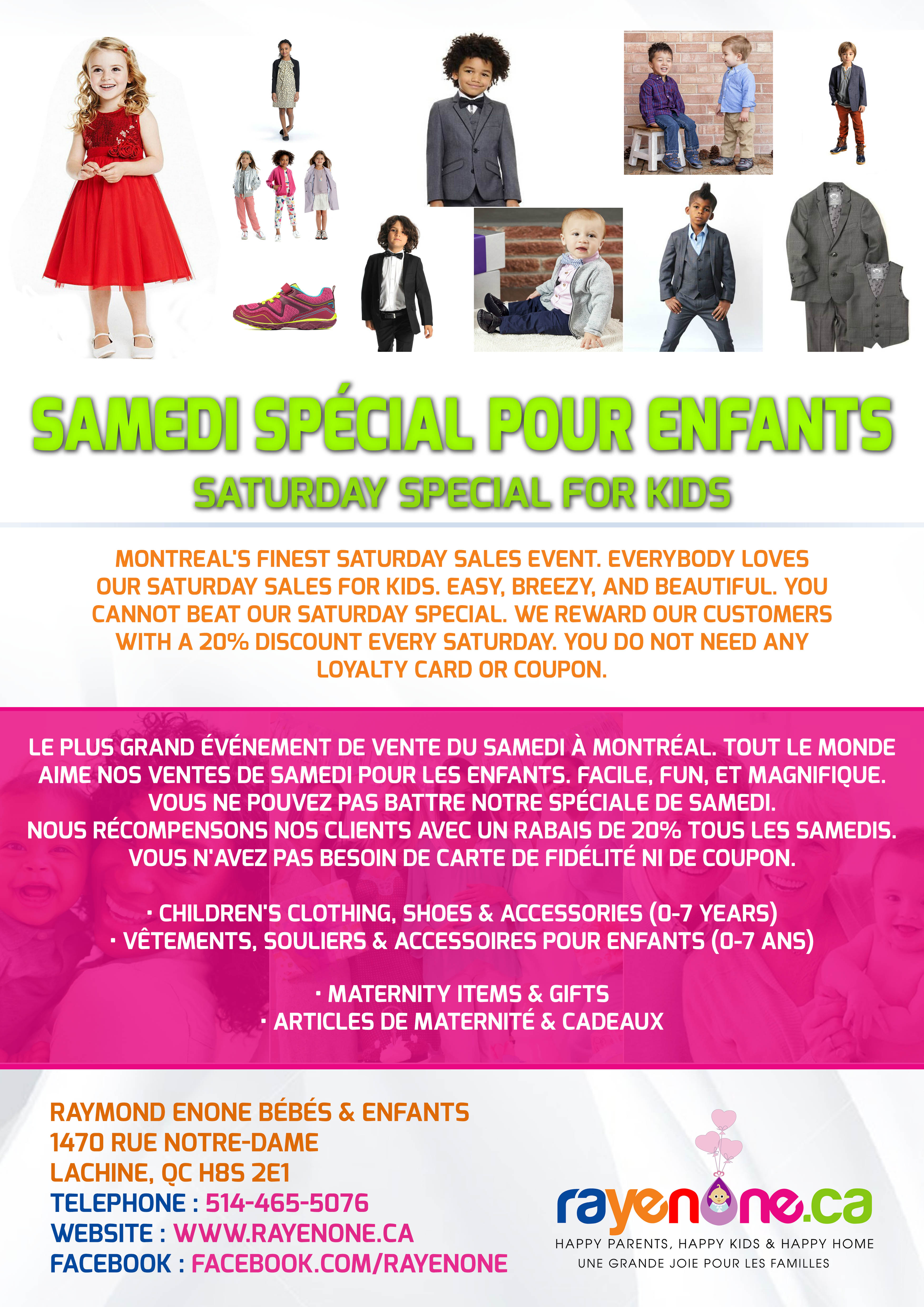 Baby and Kids Boutique Lachine